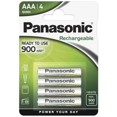 4 x Panasonic Akku Micro P03P R2U NiMH 900 mAh EVOLTA