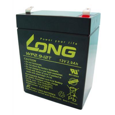 Kung Long VdS-Blei-AGM-Akku WP2.9-12T, 12V, 2,9 Ah