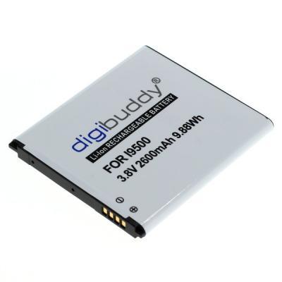 digibuddy Akku kompatibel zu Samsung Galaxy S4 I9500 / I9505 Li-Ion