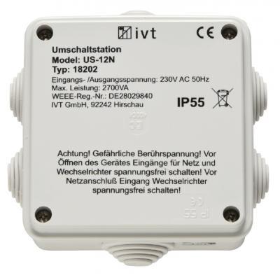 IVT Umschaltstation US-12N/ 230V AC 12A