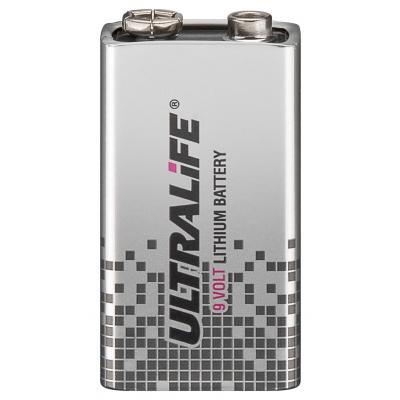 ULTRALIFE® Lithium-9V-Blockbatterie U9VL-JP