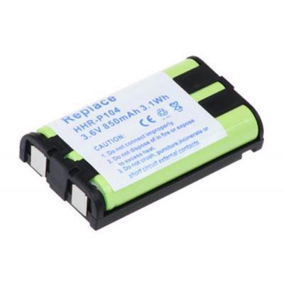 Akku kompatibel zu Panasonic KX-TW201 (HHR-P104)