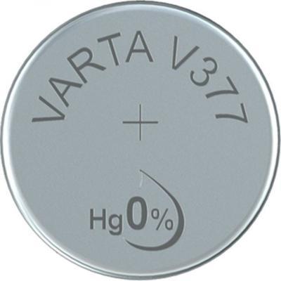 Varta Uhrenbatterie Silberoxid V377 - SR66