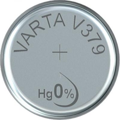 Varta Uhrenbatterie Silberoxid V379 - SR63