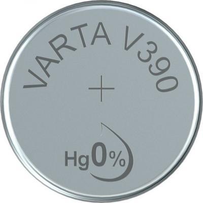 Varta Uhrenbatterie Silberoxid V390 - SR54 - SR1130SW