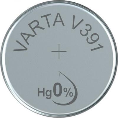 Varta Uhrenbatterie Silberoxid V391 - SR55