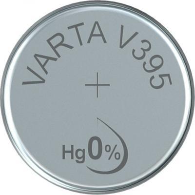 Varta Uhrenbatterie Silberoxid V395 - SR57 - SR927SW