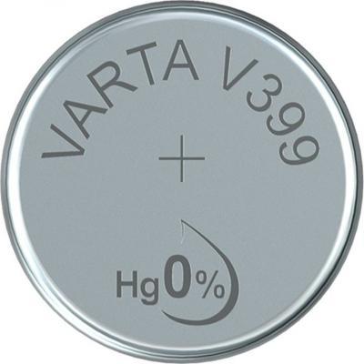 Varta Uhrenbatterie Silberoxid V399 - SR57 - SR927W