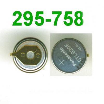 Panasonic Akku CTL 920 F / 295-758 mit Fähnchen für Solar Uhren