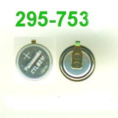 Panasonic Akku CTL 621 F / 295-753 mit Fähnchen für Solar Uhren