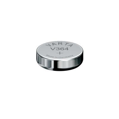 Varta Uhrenbatterie Silberoxid V364 - SR60 - SR621SW