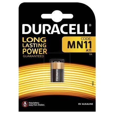 Duracell Alkaline-Knopfzelle MN11 (E11A-L1016) Alkaline 6V / 38mAh