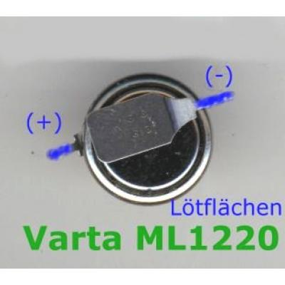 Varta Knopfzellen-Akku ML1220-SMD