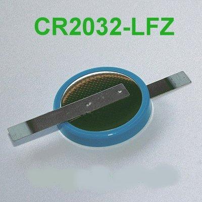 Varta Lithium-Knopfzelle CR2032 mit Z-Lötfahnen