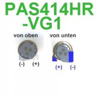 SuperCap PAS414HR-VG1 60mF 3,3 Volt