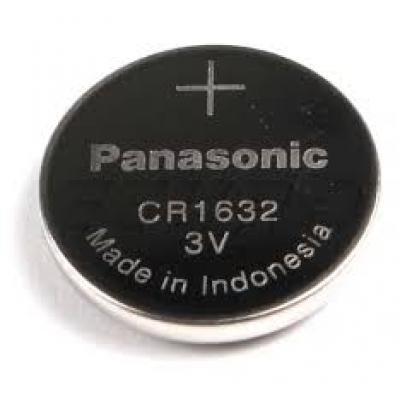 Panasonic Lithium-Knopfzelle CR1632 Lithium 3V / 140mAh