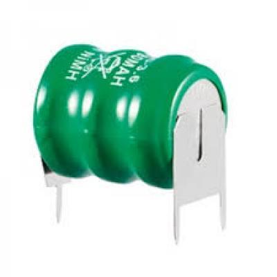 Varta Knopfzellen-Akku-Säule 3V80H - 3,6V / 80mAh, Säule, Print 2/1 ++/-