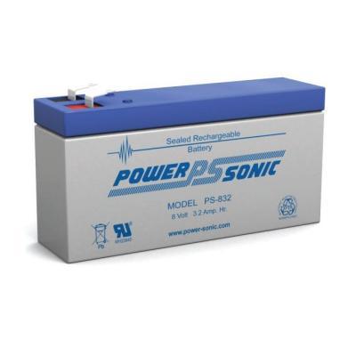 Powersonic 8V 3,2Ah Blei-Vlies Akku AGM PS 832