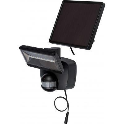 Brennenstuhl Solar LED-Strahler SOL 800 IP44 mit Infrarot-Bewegungsmelder anthrazit