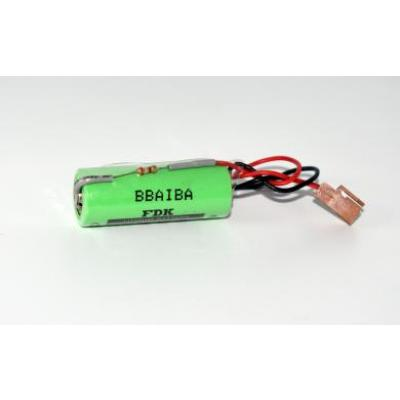 Batterie BELA02B0200K102 m. Widerstand Lithium 3V 2500mAh