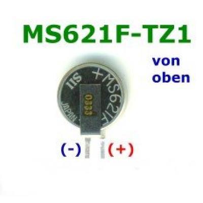 Seiko Akku MS621FE-FL11E 5,5mAh mit Print-Lötfahnen