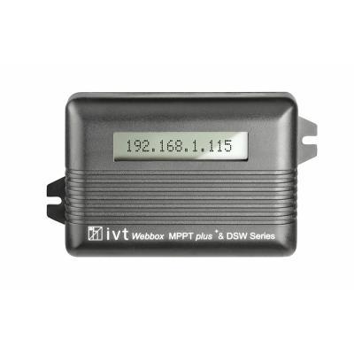 Webbox-LCD für MPPTplus und DSW Wechselrichter