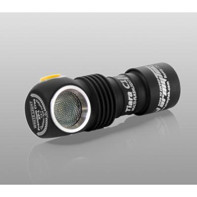 Armytek Taschenlampe / Kopflampe Tiara C1 Pro Magnet USB (weiß)