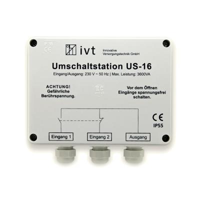 IVT Umschaltstation US-16, 230 V AC, 16 A, 3600 VA