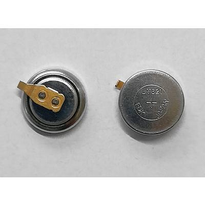 Panasonic Akku UT 621 / 295-7701 mit Fähnchen für Solar Uhren