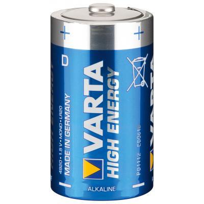 VARTA Varta Batterie High Energy D Mono 4920