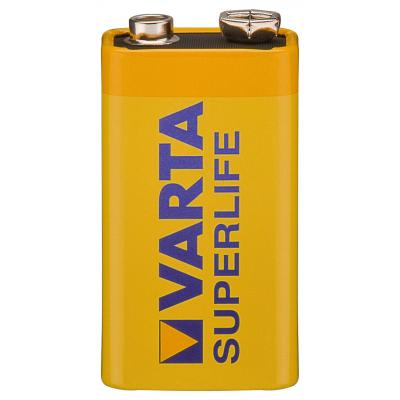Batterie 6 F 22 (9V-Block) Varta - Superlife (2022)