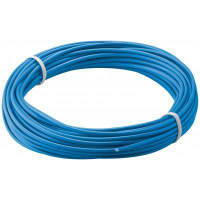 Kupferlitze isoliert, 10m, 1x0,14mm², blau