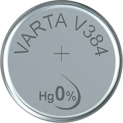 Varta Uhrenbatterie Silberoxid V384 - SR41 - SR41SW - SR736SW