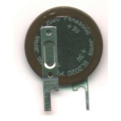 Panasonic Akku VL2020-1VC Lithium 3,0 V 20mAh