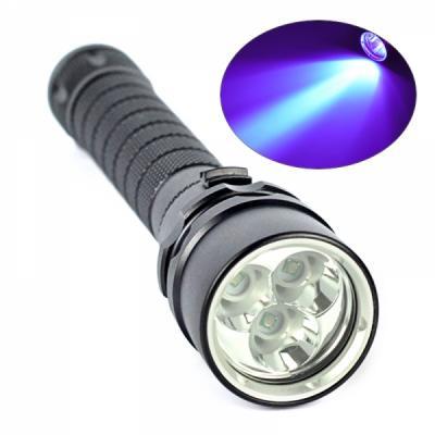 UFI Pro HAMMER 701 UV LED 3xCREE XPE Taschenlampe 10 Watt