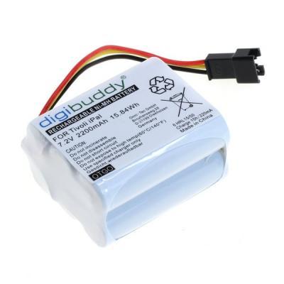digibuddy Akku kompatibel zu Tivoli Pal / iPal / Teac R-1 / R-2 / R-5 NiMH - 3-poliger Stecker