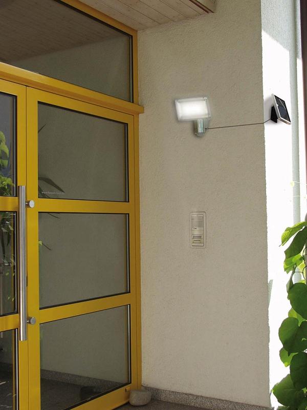 brennenstuhl solar led strahler sol 80 alu mit. Black Bedroom Furniture Sets. Home Design Ideas