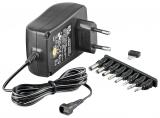3-12 V Universal-Netzteil inkl. 8 DC-Adaptern - max. 27,0 W und 2,25 A