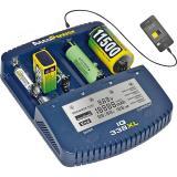 AccuPower Ladegerät und Akku Analyzer IQ-338XL für Li-Ion / NiCd / NiMH