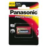 Panasonic Lithium-Batterie CR123A - CR 123 A - 3V