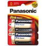 2x Panasonic Pro Power - Alkali LR20 Mono