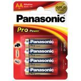 4x Panasonic Pro Power - Alkali LR6 Mignon