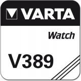Varta Uhrenbatterie Silberoxid V389 - SR54 - SR1130W
