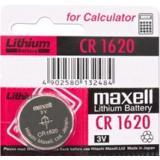 Maxell Lithium-Knopfzelle CR1620