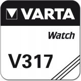 Varta Uhrenbatterie Silberoxid V317 - SR62 - SR516SW