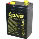 Kung Long Blei-Gel-Akku WP4.5-6, 6 V, 4,5 Ah