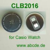 Maxell Knopfzellen-Akku CLB2016 mit Kontaktfahne