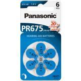 Panasonic Hörgerätebatterie Zincair PR675 - 6er Blister