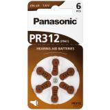 Panasonic Hörgerätebatterie Zincair PR312 - 6er Blister