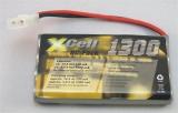 Xcell Akku-Pack 9,6V/1300mAh NiMH Tamiya-Stecker für RC-Modelle